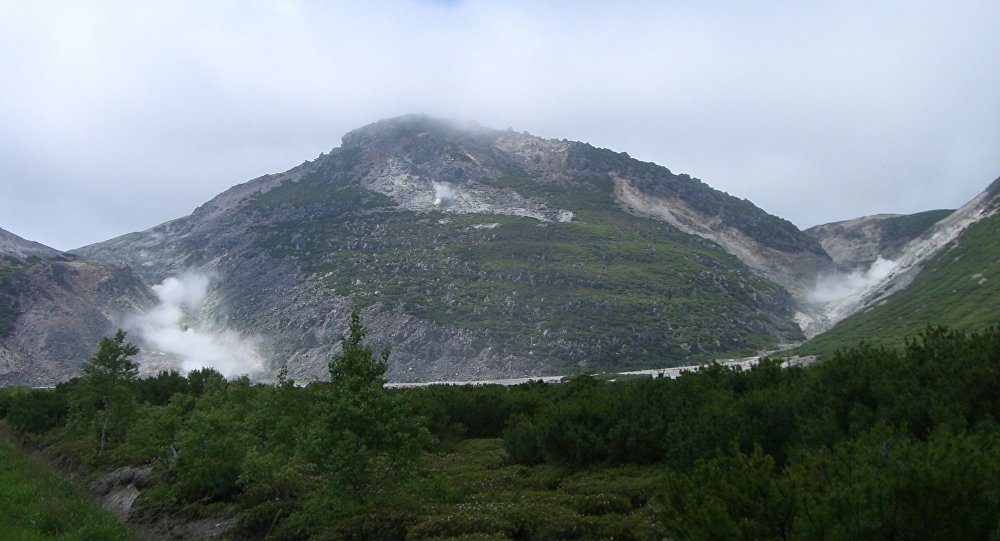 Mount Iō, also known as Atsosa Nupuri