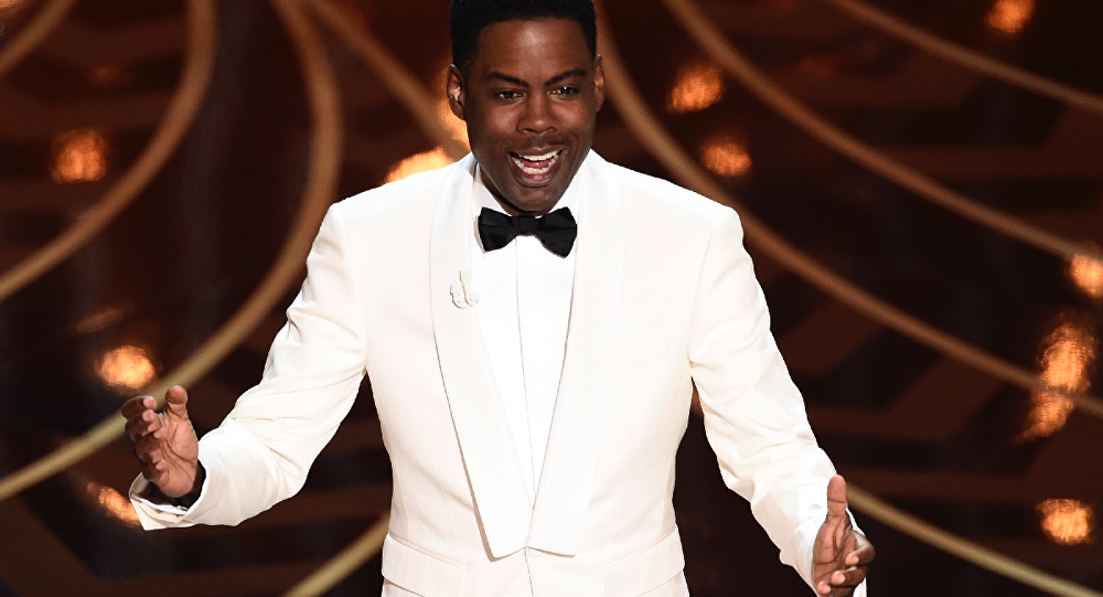 Chris Rock hosts the 2016 Academy Awards in Hollywood, February 28, 2016