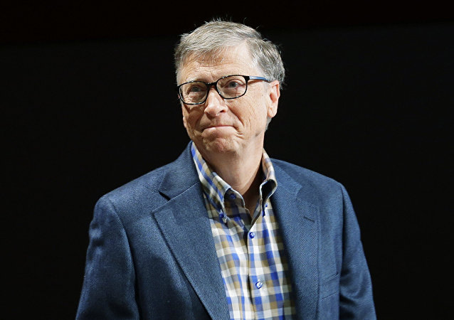 Microsoft Corp. founder Bill Gates.