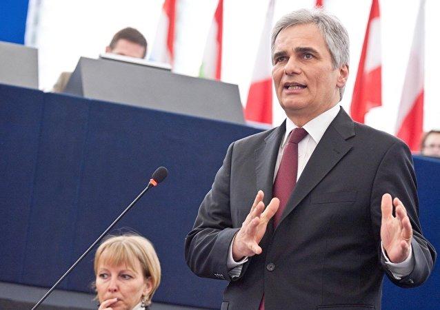 Austrian Chancellor Werner Faymann