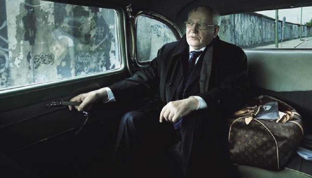 Mikhail Gorbachev for Luis Vuitton Ad