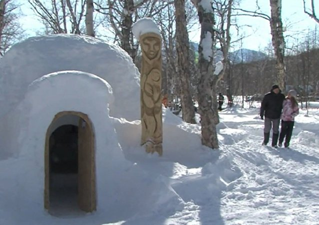 First Igloo Hotel in Russia