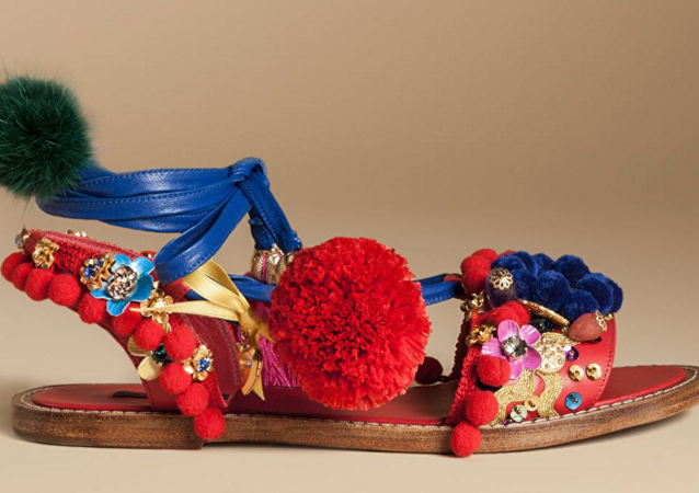 Dolce & Gabbana's controversial sandal.