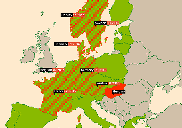 Schengen Area Borders