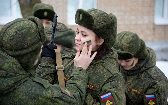 Makeup And Cammies Russiau0026#39;s First Women-Only Military Contest - Sputnik International