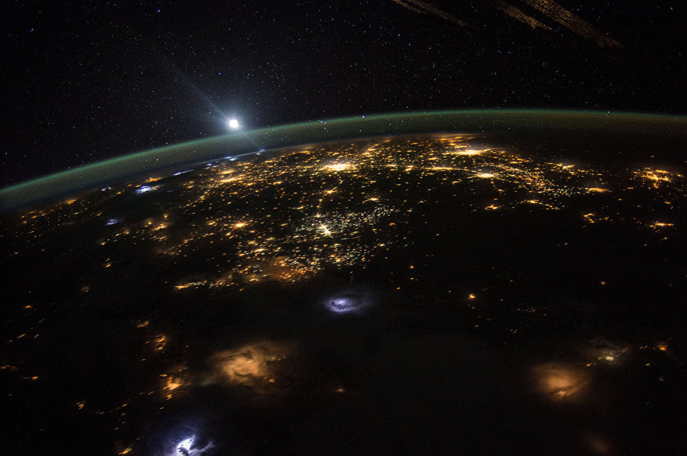 Third Rock From the Sun: Earth's Beauty Viewed From ISS