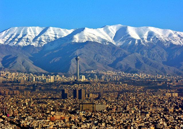The Iranian capital Tehran