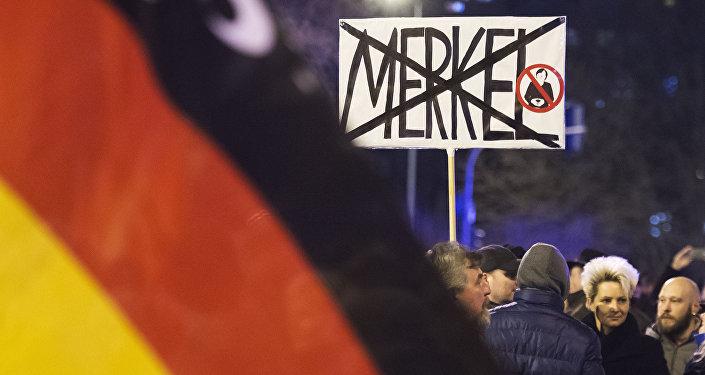 Německá strana proti masové migraci dosáhla v průzkumu rekordních čísel