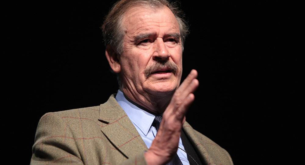 Vicente Fox Slams Trump as 'Nasty False Prophet': 'Wake Up, America, From This Nightmare!'