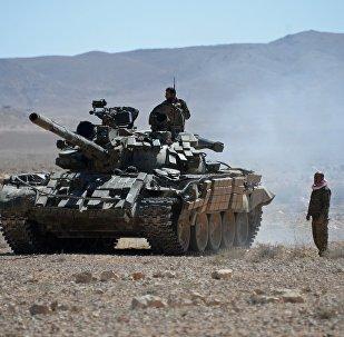 Syrian army servicemen