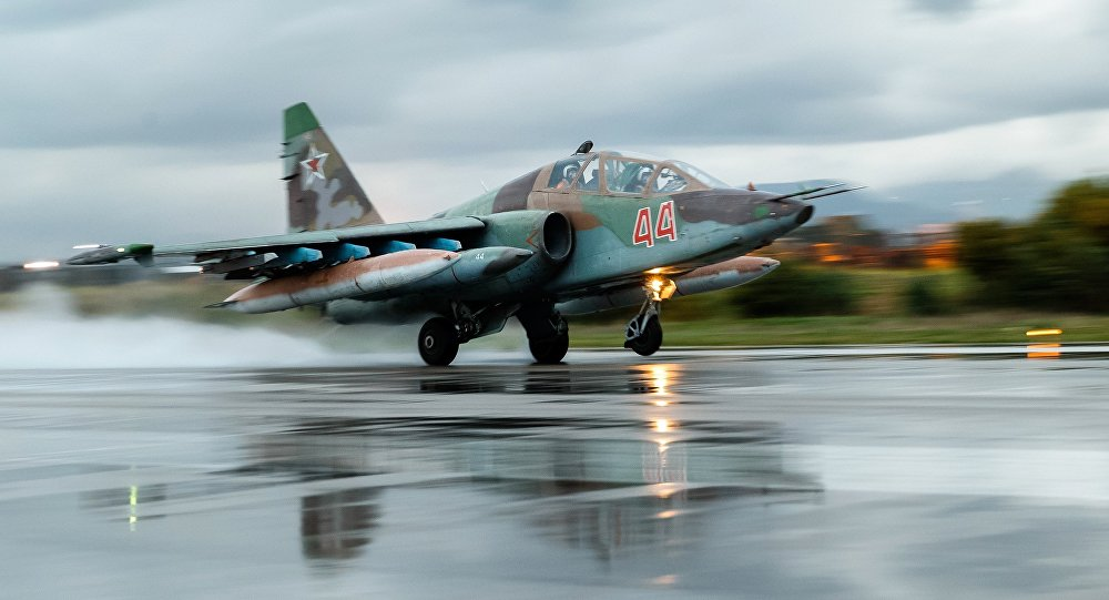 Russian Aerospace Forces aircraft leave Hmeymim airbase in Syria
