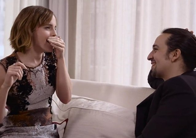 Emma Watson beatboxes for Lin-Manuel Miranda's rap on gender equality