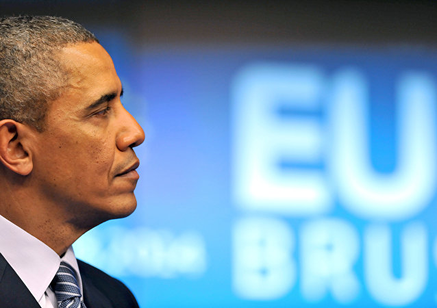 US President Barack Obama holds a press conference during the EU-US Summit at the European Headquarters in Brussels on March 26, 2014.