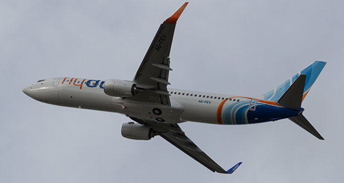 FlyDubai Boeing-737-800
