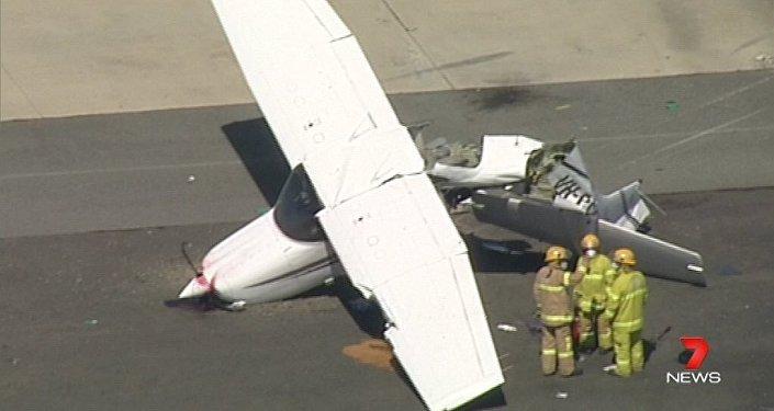 Plane crash south-east of Melbourne.