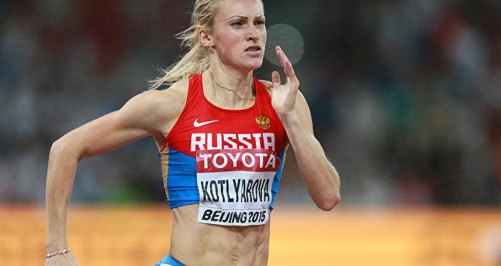 русская спортсменка и