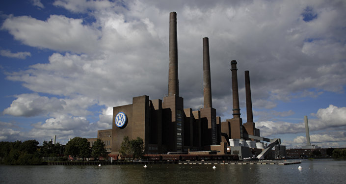 The power plant of the Volkswagen factory in the city Wolfsburg, Germany (File)
