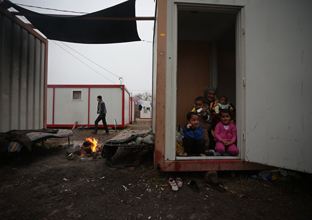 Refugee camp in Bulgaria. File photo
