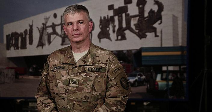 US Army Col. Steve Warren.