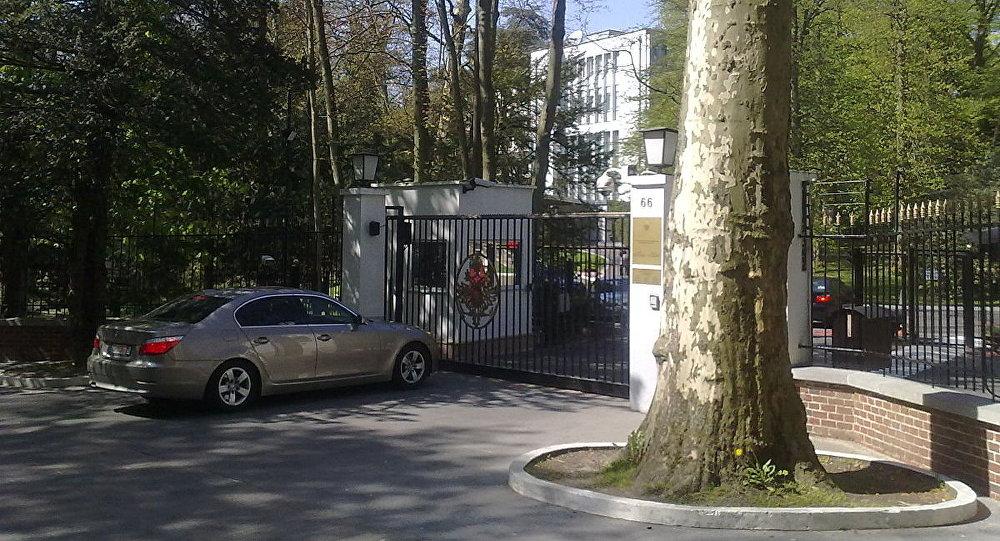 In Brussels Russian Embassy In 62
