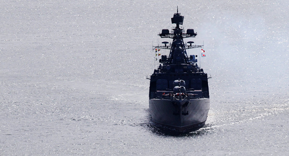 Admiral Vinogradov anti-submarine warfare frigate comes back to Vladivostok following large-scale drill in the Pacific Ocean
