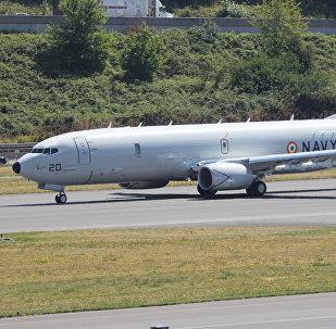 Indian Navy Boeing P-8I Neptune