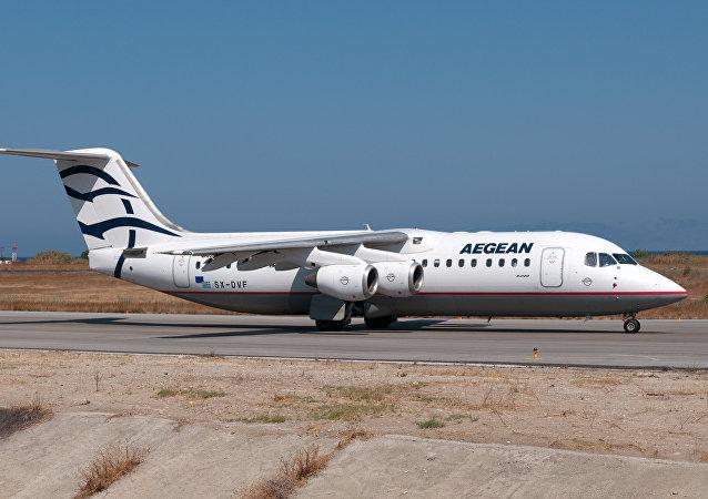 Aegean Airlines RJ1H SX-DVF