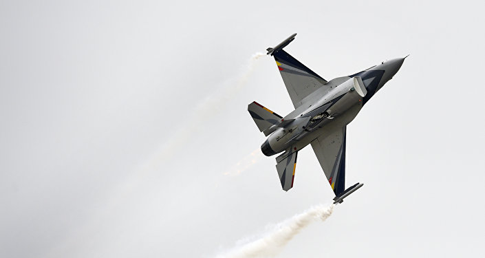 F-16 of Belgian Air Force