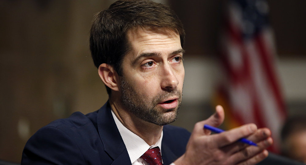 Sen. Tom Cotton.