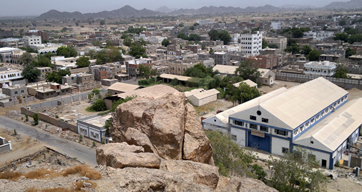 A general view shows the Yemeni town of Jaar in the southern restive region of Abyan. (File)