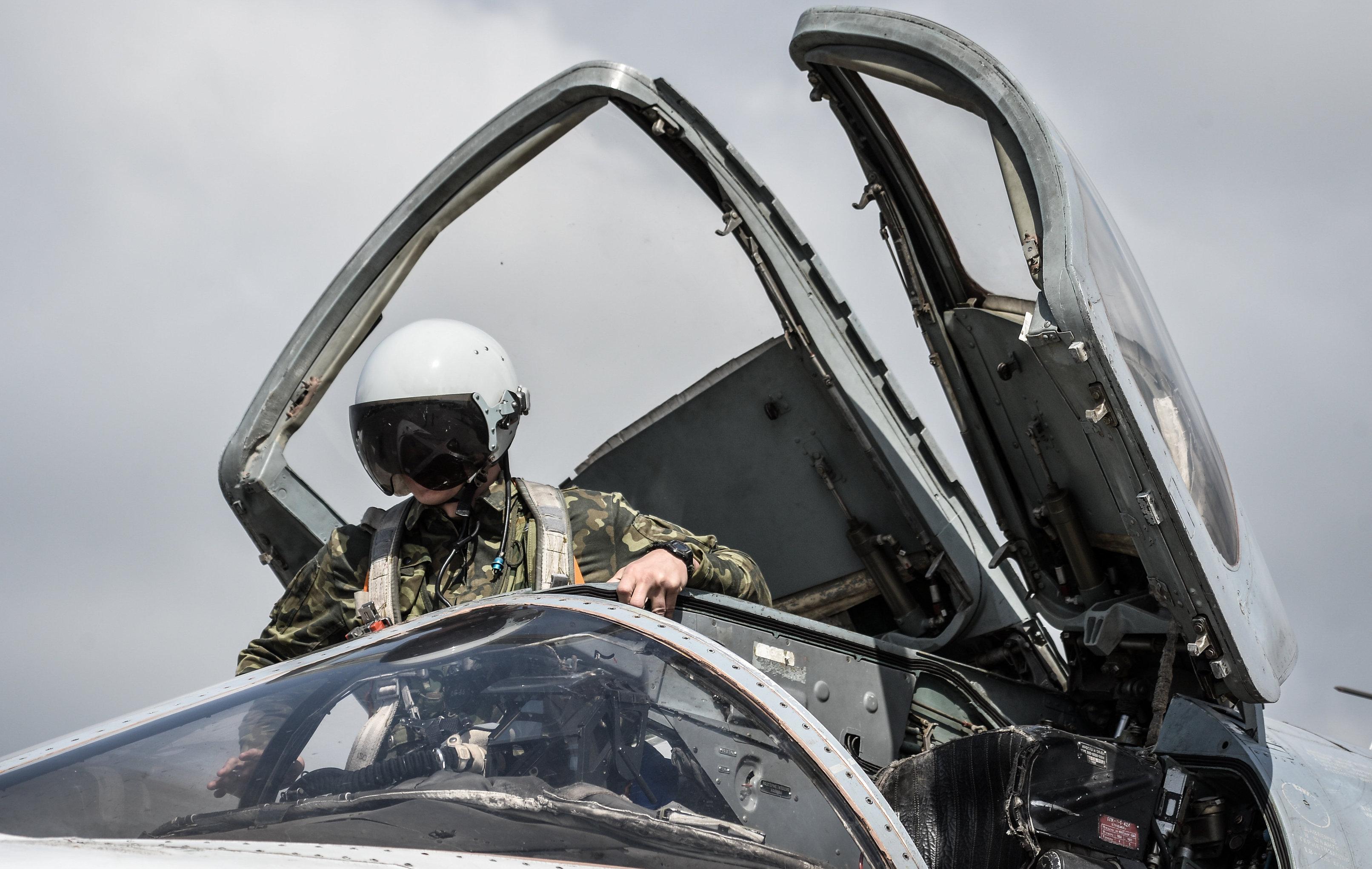 Hmeimim airbase in Syria