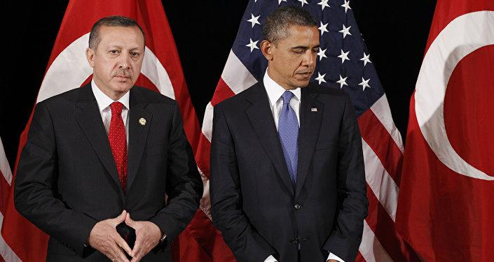 Barack Obama and Recep Tayyip Erdogan