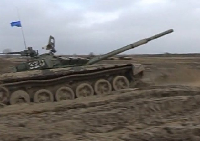 Sport Meets Armored Vehicles: Tank Biathlon 2016