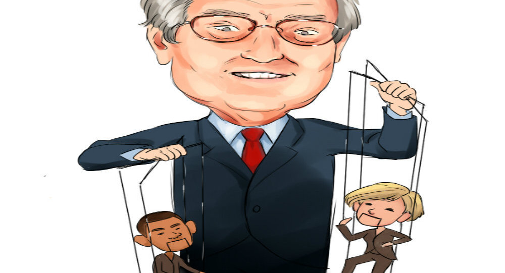 George Soros, the puppet master