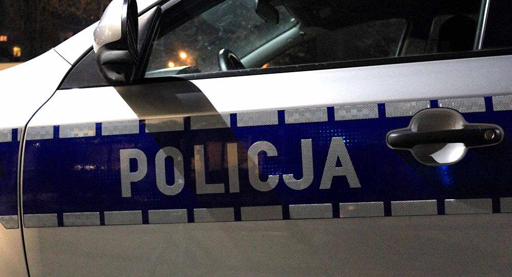 Police car in Poland