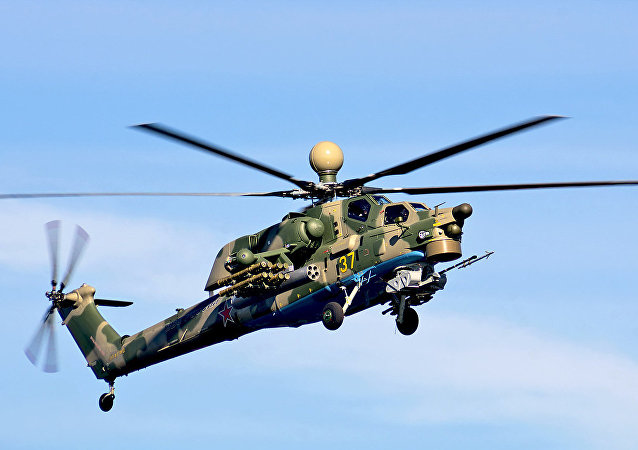 The Mi-28N attack helicopter
