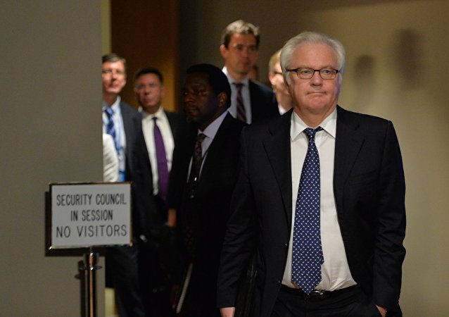 Vitaly Churkin, Russia's Ambassador to the United Nations