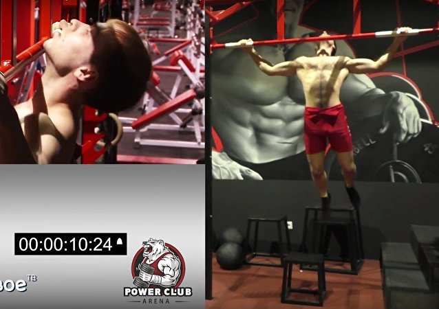 Russian athlete Victor Filippov has set a new world record in pull-ups classic grip breaking the 1988 achievement of a Vietnamese soldier.