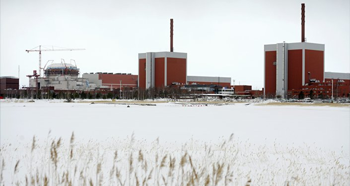 In this March 23, 2011 photo, a general view shows the nuclear power plant Olkiluoto 3 'OL3' under construction next to OL2 and OL1 nuclear reactors in Eurajoki, south-western Finland