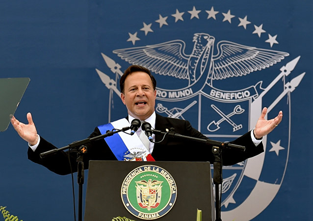Panama's  President Juan Carlos Varela (File)