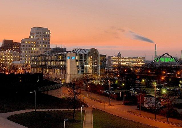 Dusseldorf view