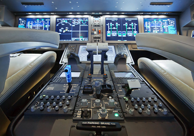 The MC-21's cockpit.