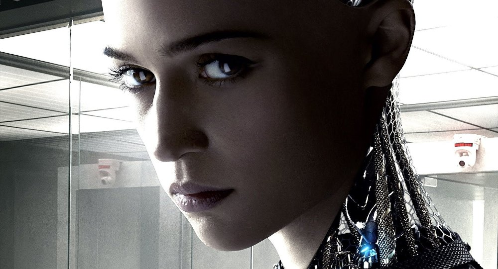 Promotional image of Alicia Vikander as Ava from the the movie Ex Machina