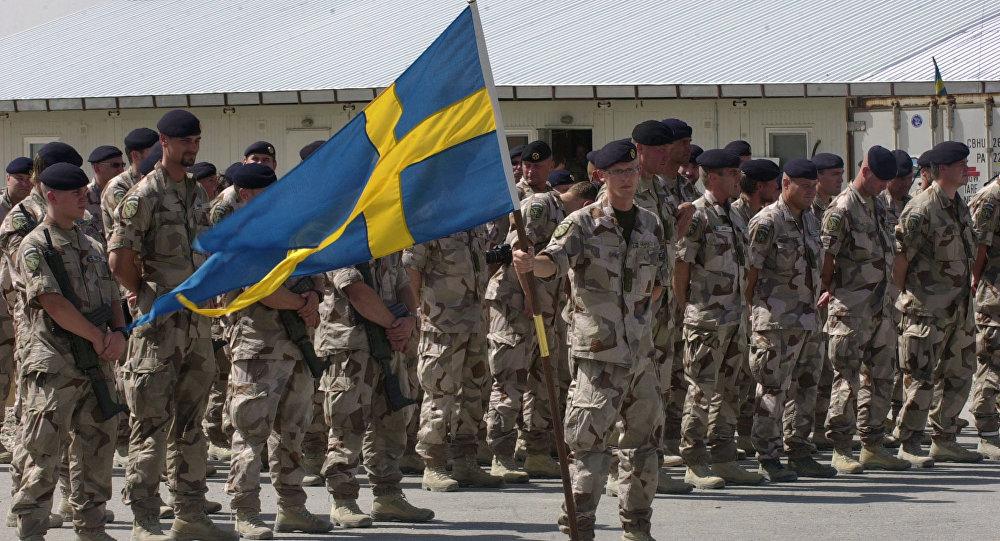 Swedish soldiers (file)