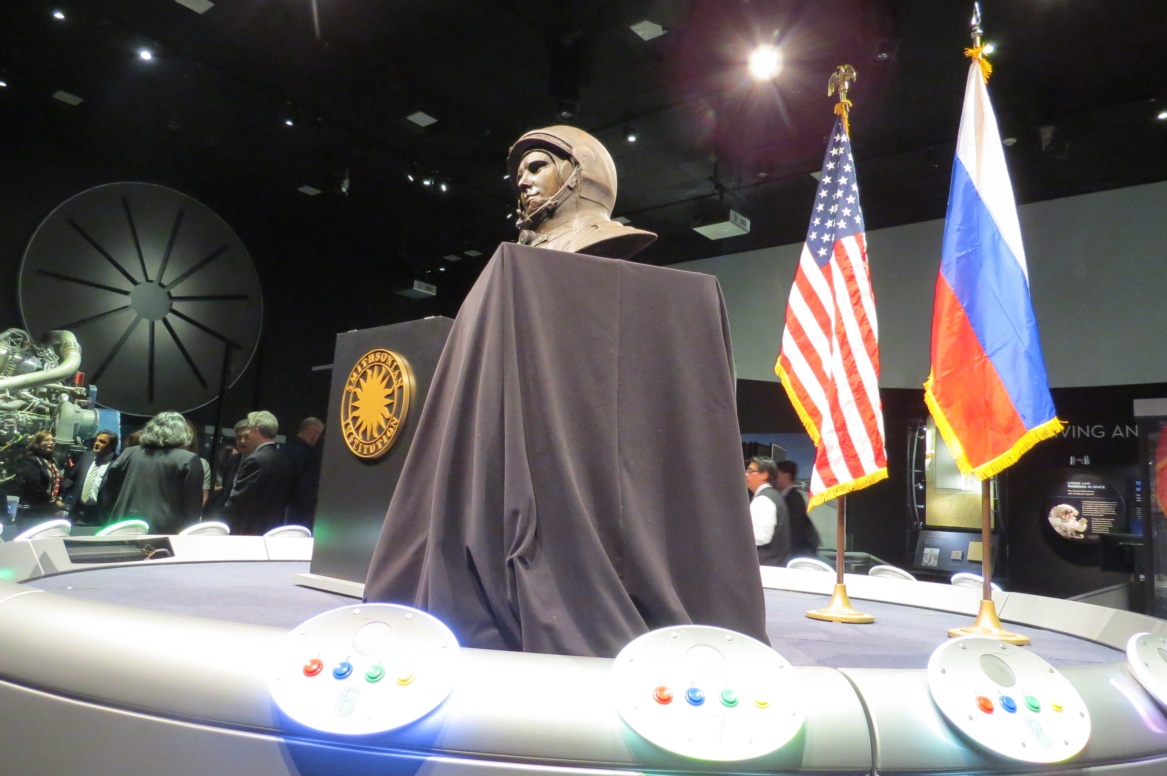 Gagarin Bust, Air and Space Museum, Washington, DC