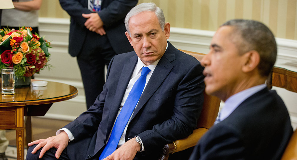 President Barack Obama speaks to members of the media as he meets with Israeli Prime Minister Benjamin Netanyahu in the Oval Office of the White House in Washington (File)