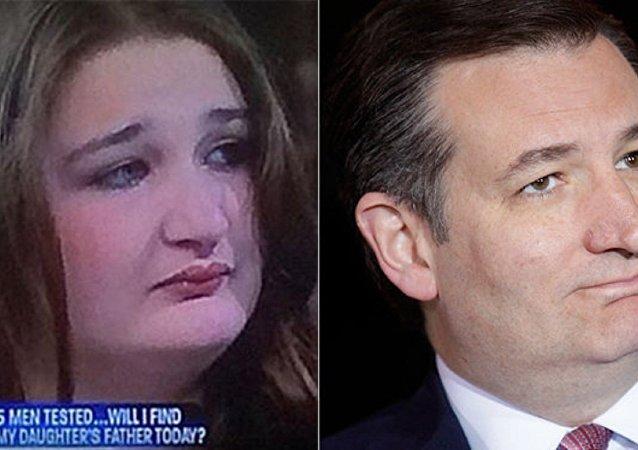 Female Ted Cruz Doppleganger Signed Up to Do Porn