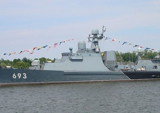 Gepard-class frigate Dagestan (ex-Albatros)