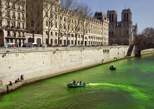 Wild Imaginings: Rivers in France Turn Green, Shock Locals