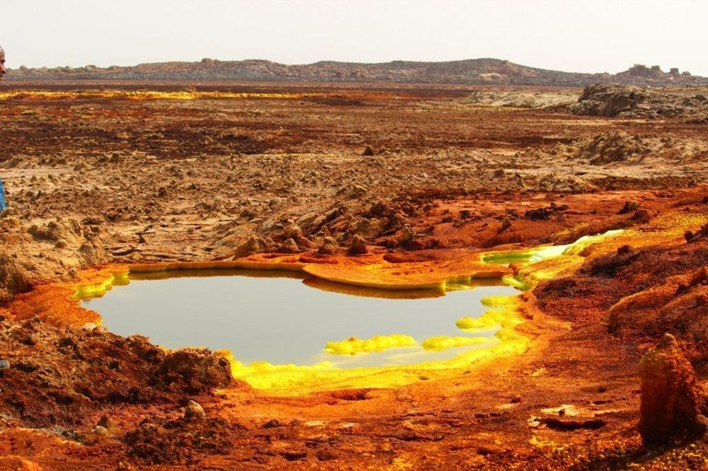 The Danakil Depression in Ethiopia